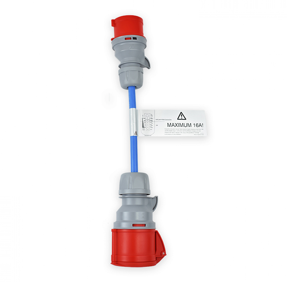 NRGkick Adapter CEE 32A auf CEE 16A rot